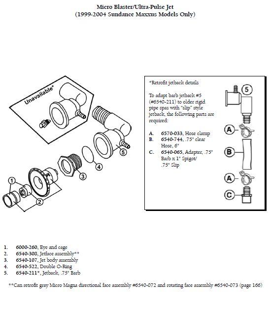 Sundance Spa Jet Eyeball And Cage Manual Guide
